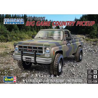 85-7226 Revell '78 GMC Big Game Country Pickup 1/24 Scale Plastic Model Kit