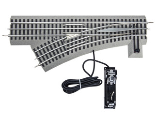 6-81949 O Scale Lionel FasTrack O-48 Left Hand Remote/Command Switch