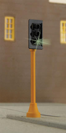 949-4360 HO Scale Walthers SceneMaster Single Sided Traffic Light