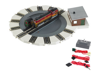 46799 N Scale Bachmann Motorized Turntable E-Z Track