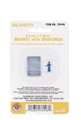 78998 N Scale Bachmann Magnet w/Brakeman Figure