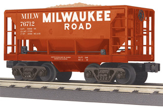 30-75580 O Scale MTH RailKing Ore Car-Milwaukee Road