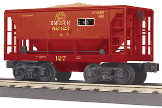 30-75577 O Scale MTH RailKing Ore Car-Duluth, Missabe & Iron Range