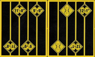 2083 O Scale Tichy Train Group Warning Sign