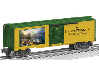 "6-39362 O Scale Lionel Thomas Kinkade ""Dorothy Discovers the Emerald City"" Box Car"