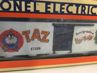 6-17219SD O Scale Lionel Tasmanian Devil 40th Birthday Box Car