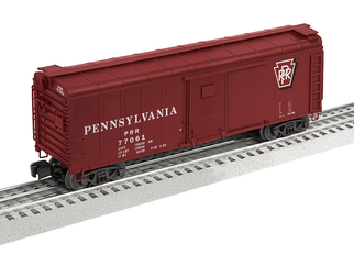 6-84891 O Scale Lionel Pennsylvania X31 Round Roof Boxcar #77061