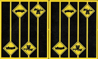 2084 O Scale Tichy Train Group Warning Signs Firehouse & Vehicles May drag