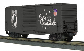 30-74927 O Scale MTH RailKing 40' High Cube Box Car-Union Pacific(P.O.W.-Spirit of Union Pacific)