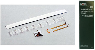 11-209 N Scale Kato Interior Light kit w/White LED