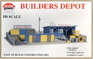 418 HO Scale Model Power Builders Depot Kit