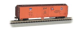 17955 N Scale Bachmann 50' Steel Reefer-American Refrigerator Transit Co.