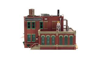 BR5848 O Woodland Scenics Morrison Door Factory