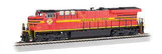 65410 HO Scale Bachmann GE ES-44AC Locomotive (DCC Sound) w/Ditch Lights-Norfolk Southern Railway #8114