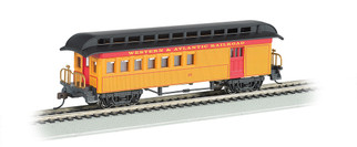 15201 HO Scale Bachmann Old-Time Combine w/Rounded End Clerestory Roof-Western & Atlantic RR