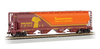 19140 HO Scale Bachmann Cylindrical Grain Hopper-Saskatchewan