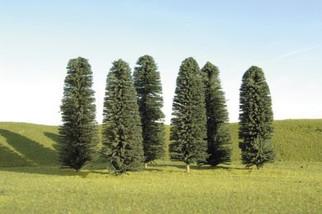 """32205 Bachmann 8"""" - 10"""" Cedar Trees (3 Per Pack)"""