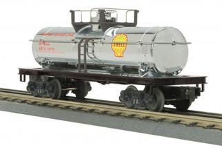 30-73532 O Scale MTH RailKing Tank Car-Shell(Chrome)