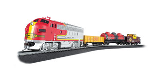 00740 HO Scale Bachmann Canyon Chief Train Set