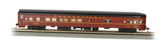 14301 HO Scale Smooth-Side Observation Car w/Lighted Interior PRR