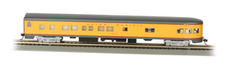 14304 HO Scale Bachmann Smooth-Side Observation car w/Lighted Interior Union Pacific