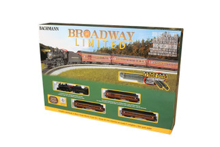 24026 N Scale Bachmann The Broadway Limited Train Set