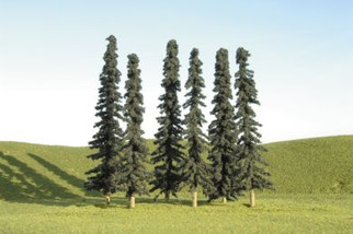 "32203 Bachmann 8""-10"" Conifer Trees 3-Pack"