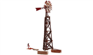 BR5042 HO Woodland Scenics Old Windmill
