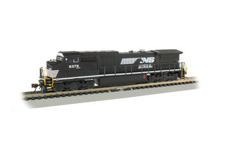 67354 N Scale Bachmann GE Dash 8-40CW Locomotive-Norfolk Southern #8379-DCC Econami Sound Value