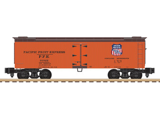 6-44137 S Gauge AF Pacific Fruit Express Woodside Reefer #91022