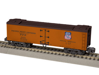 6-44138 S Gauge AF Pacific Fruit Express Woodside Reefer #91056