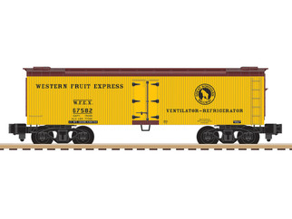 6-44141 S Gauge AF Great Northern Woodside Reefer #67582