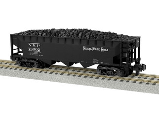 6-44050 S Gauge AFNickel Plate Road 3-Bay Hopper #78002