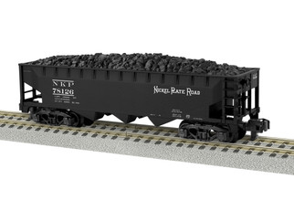 6-44051 S Gauge AF Nickel Plate Road 3-Bay Hopper #78126