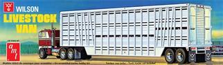 AMT1106 AMT Wilson Livestock Van 1/25 Scale Plastic Model Kit