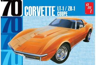 AMT1097 AMT '70 Corvette LT-1/ZR-1 Coupe 1/25 Scale Plastic Model Kit