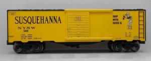 96443 O Scale Ready Made Trains Boxcar-NYSW Susie-Q