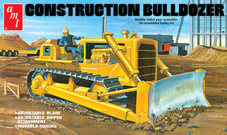 AMT1086 AMT Construction Bulldozer 1/25 Scale Plastic Model Kit