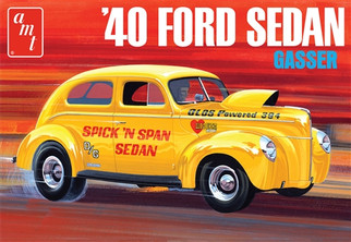 AMT1088 AMT '40 Ford Sedan Gasser 1/25 Scale Plastic Model Kit