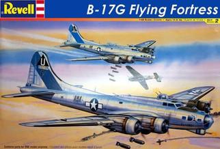85-5600 Revell B-17G Flying Fortress 1/48 Scale Plastic Model Kit
