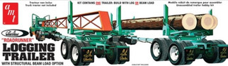 "AMT1103 AMT Peerless ""Roadrunner"" Logging Trailer 1/25 Scale Plastic Model Kit"