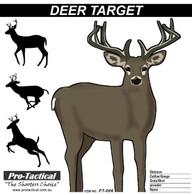 deer paper shooting target