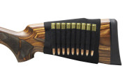 Max-Hunter Elastic Butt Stock Rifle Shell Holder - 9rd Capacity