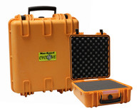 Cyclone Extra Long Pistol Hard Case - Orange