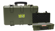 Cyclone Deluxe Utility Pistol/Camera Hard Case - Green