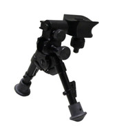 "Versa-Pod Model 50 Super-Short Prone 5-7"" Bipod - Rubber Feet"