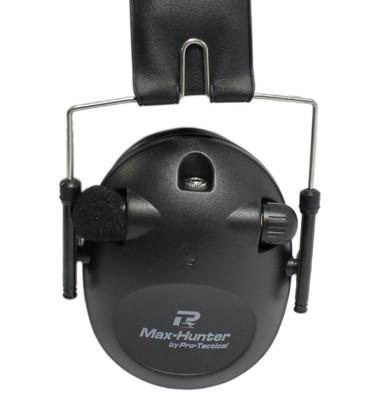 earmuff protection ear electronic 85db NRR black shooting shotgun