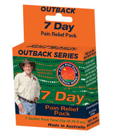 outback series pain relief 7 days sachets david ireland