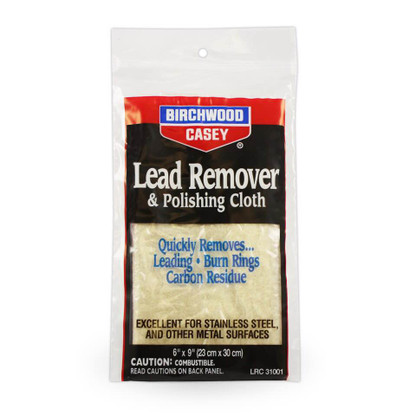 Birchwood Casey Lead Remover & Polishing Cloth