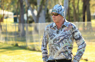 Max-Hunter Koorangie Camo Long Sleeve Hunting Shirt - L